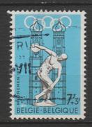 """BELGIQUE ,N°1590 """" J.O. DE MUNICH''"""