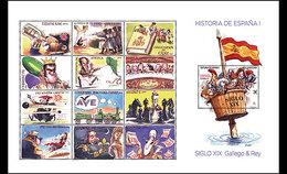 Spanje / Spain - Postfris / MNH - Sheet Geschiedenis Van Spanje 2017
