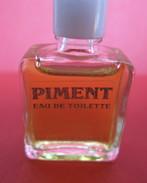 Miniature PIMENT Eau De Toilette (payot Pour Hommes ) 5ml - Vintage Miniatures (until 1960)