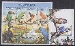 L41. Zambia - MNH - Animals - Birds