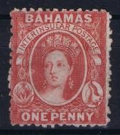 Bahamas: SG 21x  Carmin Lake Wmk CC  Reversed Perfo 12,5   MH/* Falz/ Charniere - Bahamas (...-1973)