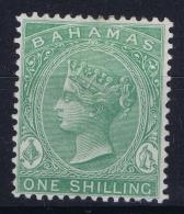 Bahamas: SG 39b Green Wmk CC    Perfo 14  MH/* Falz/ Charniere - Bahamas (...-1973)