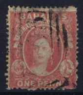 Bahamas: SG 3  Mi Nr 2Ab   Gestempelt/used/obl. 1860 - Bahamas (...-1973)