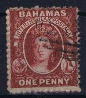 Bahamas: SG 16  Mi Nr 2D  Perfo 13   Gestempelt/used/obl. 1860 - Bahamas (...-1973)