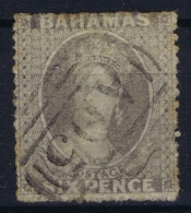 Bahamas: SG 6  Gestempelt/used/obl. 1861 Grey Lilac - Bahamas (...-1973)