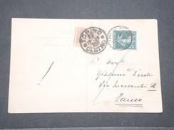 ITALIE - Taxe De Turin Sur Carte Postale En Provenance De France En 1909 - L 8090 - Sonstige