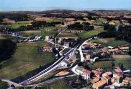 43  ST ROMAIN LACHALM La Gare De St Pal Et De St Romain Vue Aerienne - Altri Comuni