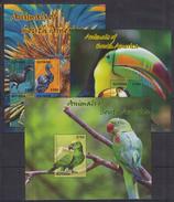 L41. Guyana - MNH - Animals - Birds - 2014