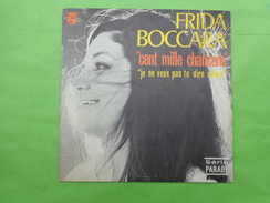 Disque Philips -frida Boccara -cent Mille Chansons Etc... - Vinyl Records
