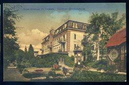 Cpa Pologne Soolbad - Goczalkowitz  Neues Badehaus Mit Trinkhalle --  Gruss Aus Friedrichs Hotel Kaiserhof  NCL77 - Pologne