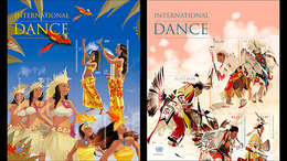Verenigde Naties (New York) / United Nations - Postfris / MNH - Sheet Internationale Dans 2017 - Unused Stamps