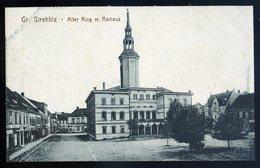 Cpa Pologne Gr. Strehlitz - Alter Ring M. Rathaus  NCL77 - Polonia