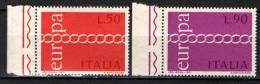 ITALIA - 1971 - EUROPA UNITA - CEPT - NUOVI MNH