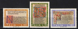 """ITALIA - 1972 - 5° CENTENARIO DELLA STAMPA DELLA """"DIVINA COMMEDIA"""" - NUOVI MNH"""