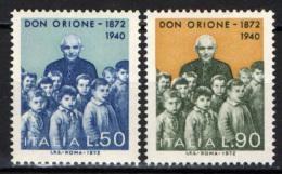 ITALIA - 1972 - DON ORIONE - NUOVI MNH