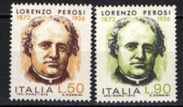 ITALIA - 1972 - LORENZO PEROSI - NUOVI MNH