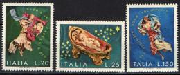 ITALIA - 1972 - NATALE- CHRISTMAS - NAVIDAD - NOEL - NUOVI MNH