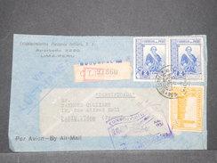 PEROU - Enveloppe Commerciale De Lima Pour La France Par Avion En 1937 , Affranchissement Plaisant - L 8111 - Pérou