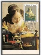Francia/France: Maximum Card, La Merlettaia, The Lacemaker, La Dentellière - Tessili