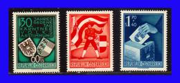 1950 - Austria - Sc. B 269 - B 271 - MNH - AU-112