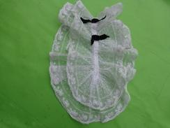 Jabot Tulle Et Dentelle - Vintage Clothes & Linen