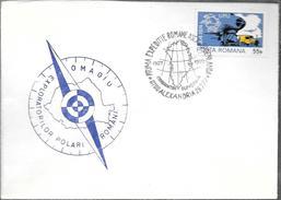 EXPEDITIE ROMANE 1927-1977 EXPLORATORILOR POLARI ROMANI OMAGIU ENVELOPE RARE