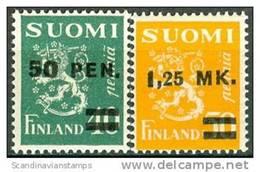 Finland 1931 Opdrukken Op Leeuw Type I PF-MNH