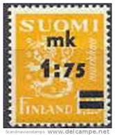 Finland 1940 Opdruk 1.75-1.25mk Leeuwenzegel Type II PF-MNH-NEUF