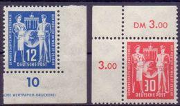 DDR Mi. 243-244 Eckrand ** (€ 22,00) - Ansehen!!