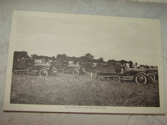 C.P.A. - Guerre 1939.1945 - Auto.Chenilles Attendant Les Ordres - 1939 - SPL (78) - War 1939-45