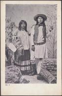 Scout Riley & His Wife, Globe, Arizona, C.1905 - U/B Postcard - Native Americans