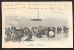 DIEPPE Sur La Plage (Vve Ed.M) Seine-Maritime (76) - Dieppe