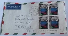 ITALIA 1967 - (273) LETTERA  PER LA LIBIA POSTA AEREA