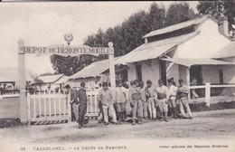 MAROC---CASABLANCA---le Dépôt De Remonte--voir 2 Scans - Casablanca