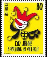 Oostenrijk / Austria - Postfris / MNH - 150 Jaar Carnaval In Villach 2017