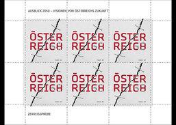 Oostenrijk / Austria - Postfris / MNH - Sheet Toekomst In 2050 2017