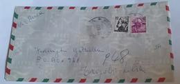 ITALIA 1967 - (276) LETTERA  PER LA LIBIA POSTA AEREA