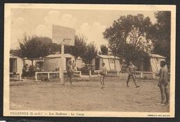 VILLENNES Les Nudistes Au Camp (Combier) Yvelines (78)