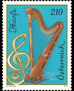 Oostenrijk / Austria - Postfris / MNH - Muziekinstrumenten, Harp 2017