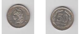 50 CENTAVO 1958 - Argentine
