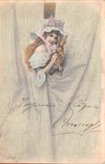 """¤¤  -  Illustrateur """" Wichera """"   -  Joyeuses Pâques  -  Lapin , M.M. Vienne N° 138     -  ¤¤ - Pâques"""