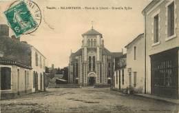 SALLERTAINE     PLACE DE LA LIBERTE - Andere Gemeenten