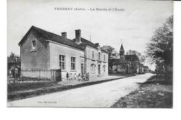 AUBE-FRESNAY La Mairie Et L'Ecole-MO - France