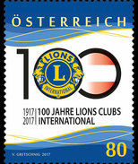 Oostenrijk / Austria - Postfris / MNH - Lions Club 2017