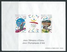 ANDORRE - EPREUVE DE LUXE -  Jeux Olympiques De Barcelone