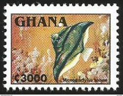 Ghana 1995 Monodactylus Sebae Guinean Finger-fish MNH - Ghana (1957-...)
