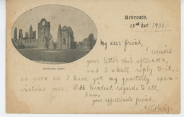 ROYAUME UNI - SCOTLAND - ARBROATH - Arbroath Abbey (1901) - Angus