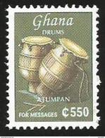 Ghana 1999 Atumpan Drums MNH - Ghana (1957-...)