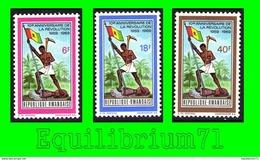 319/321** - 10e Anniversaire De La Révolution / 10e Verjaring Van De Revolutie - RWANDA - Rwanda
