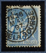 Sage N°101.Type II Ob.(CAD) PARIS Pl De La Bourse 26 Mai 1897.